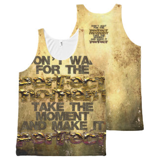 STRICTLY TYPOGRAPHY 3 All-Over PRINT SINGLET