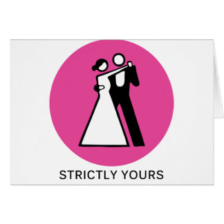Strictly yours card
