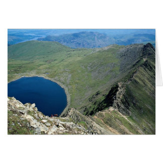 Striding Edge from Helvellyn, Lake District, Engla Card