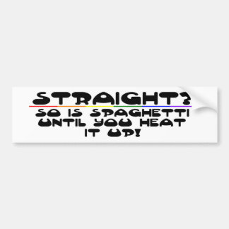 Stright? Bumper Sticker