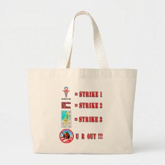 Strike 3 - U R OUT!!! Canvas Bags