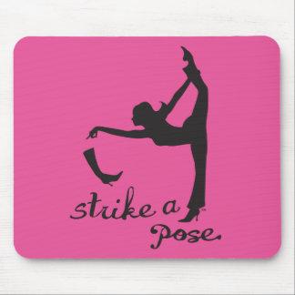 Strike a Pose ~ Dancer & Yoga Inspired Creative Mouse Pad