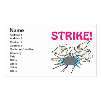 Strike Pack Of Standard Business Cards