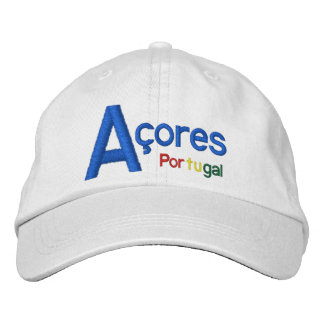 Striking Açores* Portugal Hat Embroidered Baseball Cap