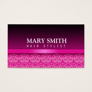 Striking Damask Business Card
