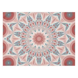 Striking Modern Kaleidoscope Mandala Fractal Art Tablecloth