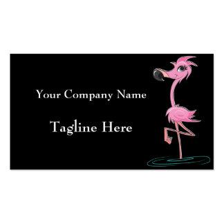 Striking Pink Flamingo Business Cards