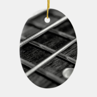 String Bass Guitar Music Rock Sound Instrument Ceramic Ornament