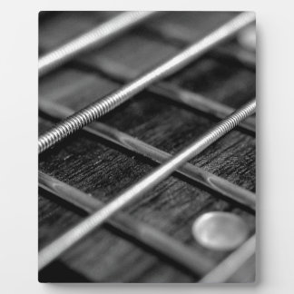 String Bass Guitar Music Rock Sound Instrument Plaque