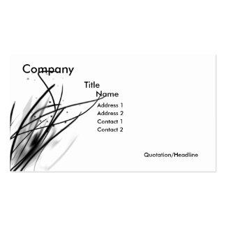 String Business Set Pack Of Standard Business Cards