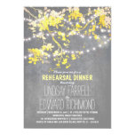 String lights cute and fancy rehearsal dinner 13 cm x 18 cm invitation card