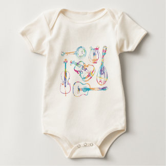 String Musician Baby Bodysuit