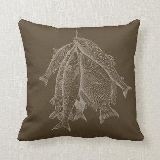 String Of Fish Cushion