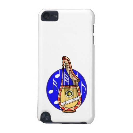 Stringed Harp Guitar Cross Instrument iPod Touch 5G Cases