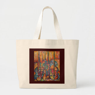 Stringed Instrument Art Tote Bag
