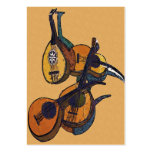 Stringed Musical Instruments Pack Of Chubby Business Cards