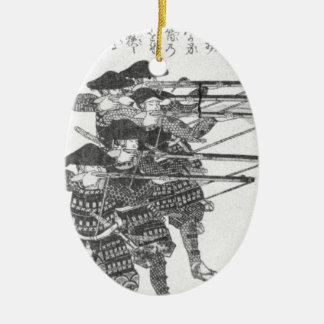 Strings for night firing by Utagawa Kuniyoshi Ceramic Ornament
