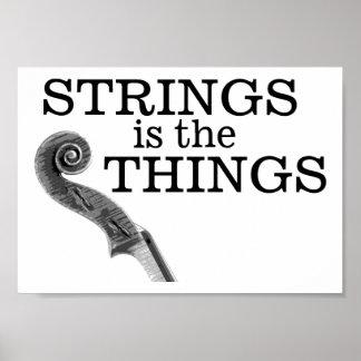 Strings Things Poster