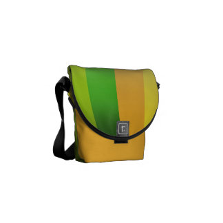 Strip Design with figure your background Courier Bags