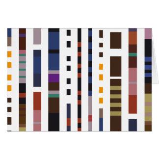 Stripe Art Greeting Cards