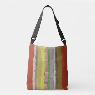 Stripe autumn bag