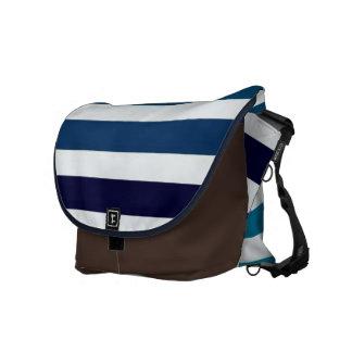 stripe bag courier bag
