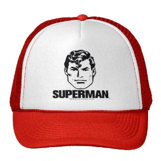 Stripe Boy - Superman Hat