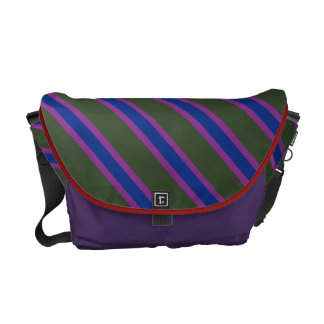 Stripe is OK Courier Bag