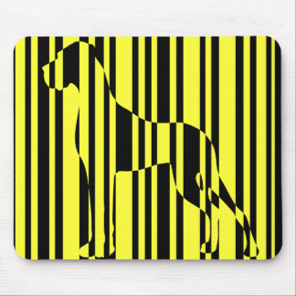 Stripe it! mouse pad