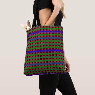 Stripe-It-Preppy-Colorful-Fun-Totes-Shoulder-Bags Tote Bag
