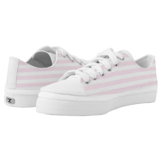 Stripe Me Up Pink Low Top Shoes Printed Shoes