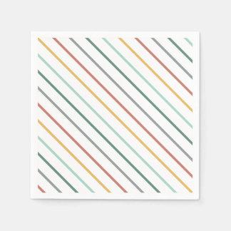 stripe napkin disposable napkin