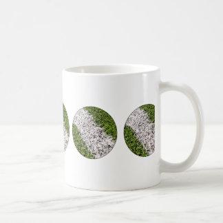 Stripe on grass mugs