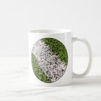 Stripe on grass mug