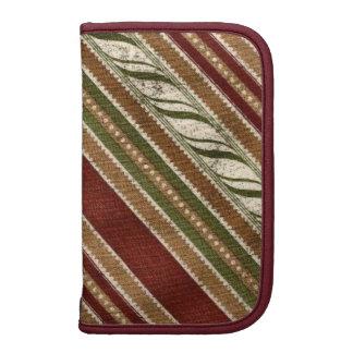 Stripe pattern Rickshaw smartphone folio planner