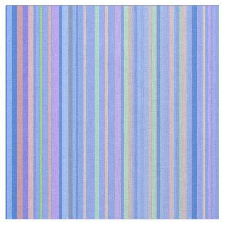 Stripe Striped Stripes Pattern Print Lines Blue Fabric