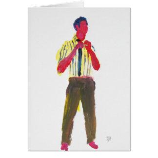 Stripe Tease 1 Card