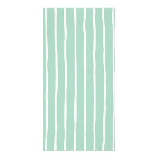 Stripe the Line #2 Personalized Photo Card