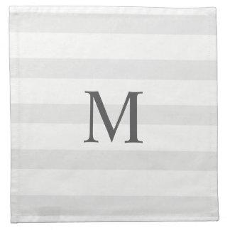 Stripe Wedding Cloth Napkin