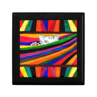 Striped Abstraction Design2 Gift Box