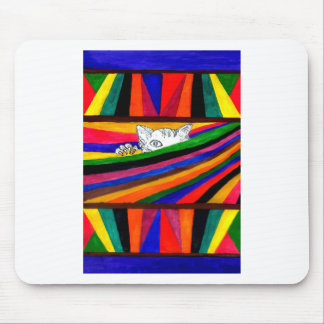 Striped Abstraction Design2 Mouse Pad