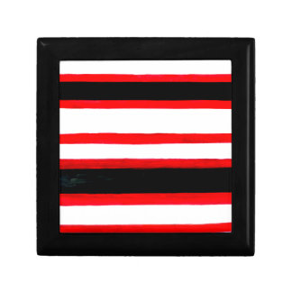 Striped Abstraction Design Gift Box