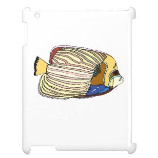 Striped Angel Fish iPad Cases