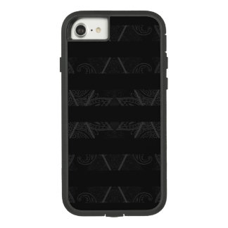 Striped Argyle Embellished Black Case-Mate Tough Extreme iPhone 8/7 Case