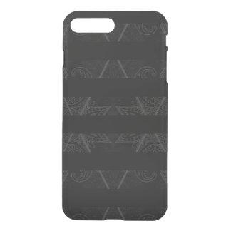 Striped Argyle Embellished Black iPhone 8 Plus/7 Plus Case