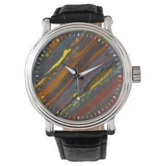 Striped Australian Tiger Eye Watch