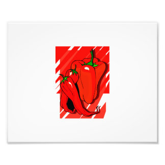 Striped background 3 peppers red.png photograph