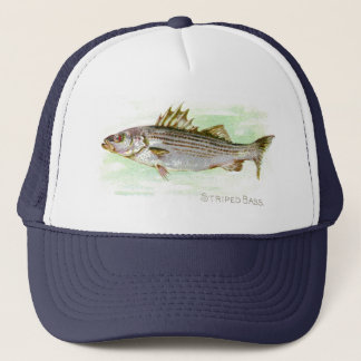 Striped Bass Trucker Hat