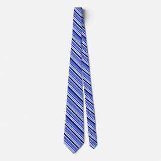 Striped Blue Men's Neck Tie