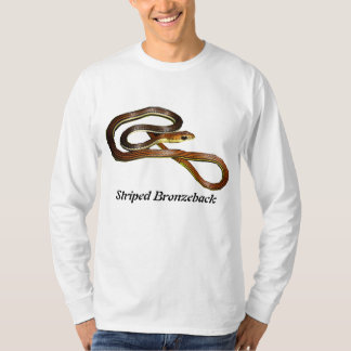 Striped Bronzeback Basic Long Sleeve T-Shirt